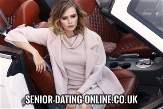 What are members on Senior Dating looking for?